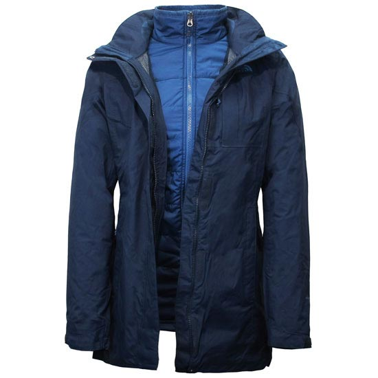 The North Face Solaris Triclimate Parka W - Urban Navy