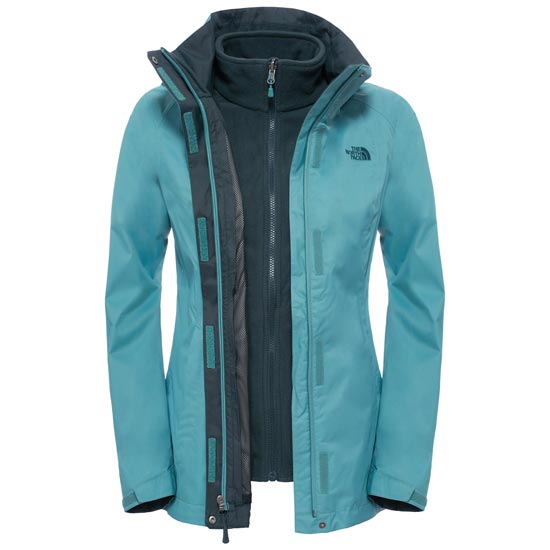 The North Face Evolve II Triclimate Jacket W - Deep Sea