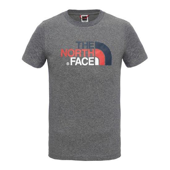 The North Face S/S Easy Tee Y - Medium Grey Heather