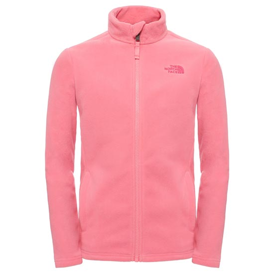 The North Face Snow Quest Full Zip Jr - Cha Cha Pink