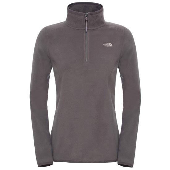 The North Face 100 Glacier 1/4 Zip W - Rabbit Grey