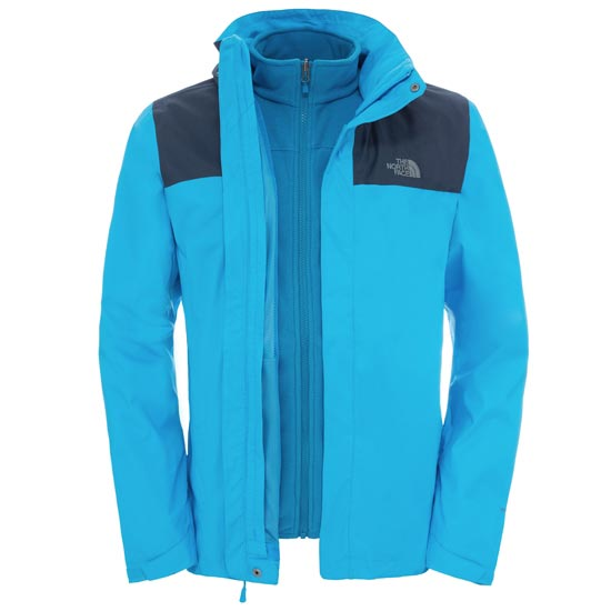 The North Face Evolve II Triclimate Jacket - Blue Aster/Urban Navy