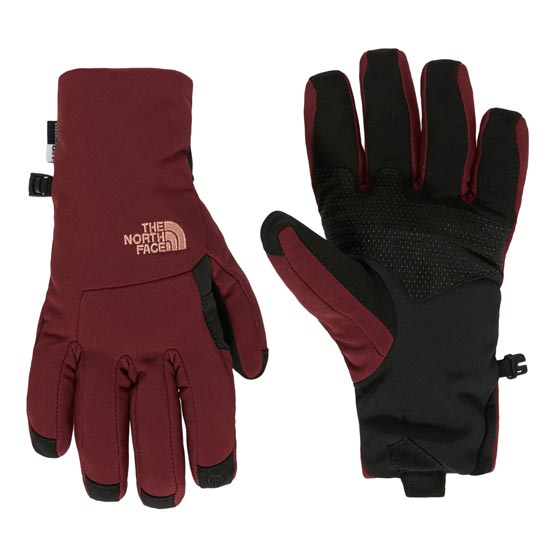 The North Face Apex + Etip Glove W - Deep Garnet Red