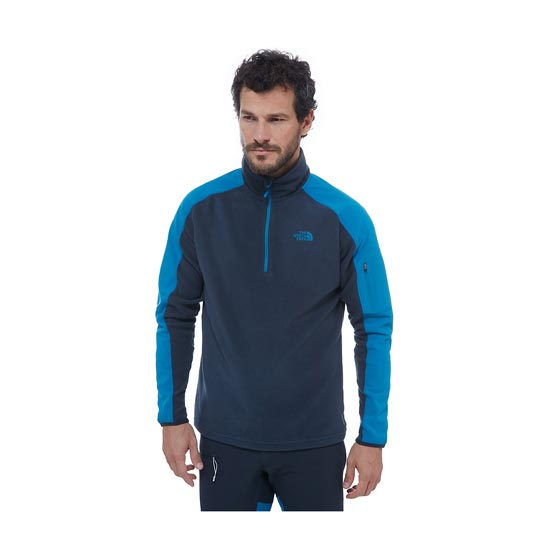 The North Face Glacier Delta 1/4 Zip - Photo de détail
