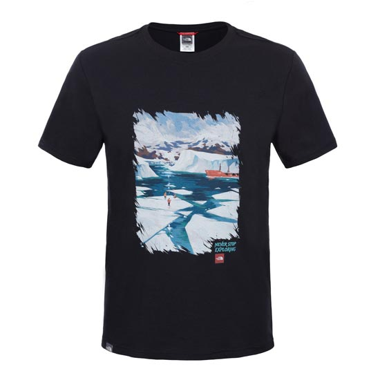 The North Face S/S Never Stop Exploring Series Tee - TNF Black