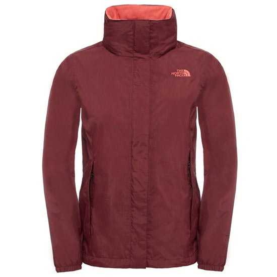 The North Face Resolve Jacket W - Deep Garnet Red