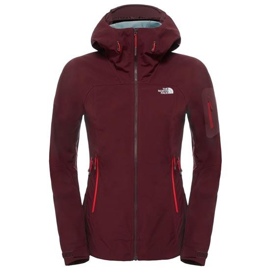The North Face Steep Ice Jacket W - Deep Garnet Red