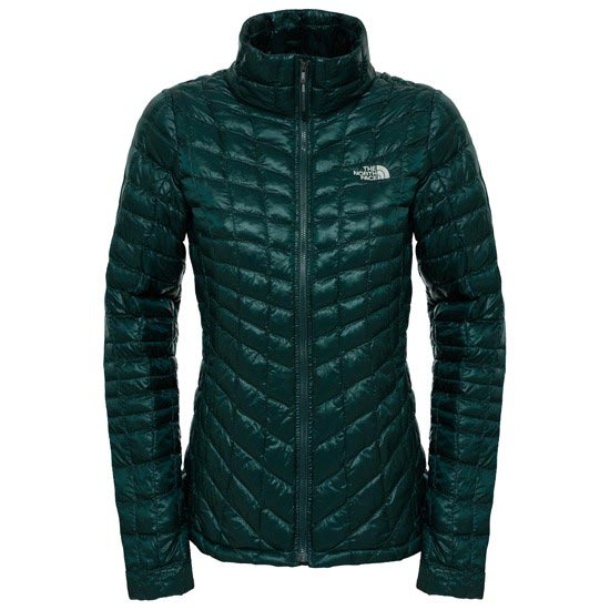 The North Face Thermoball Jacket W - Darkest Spruce