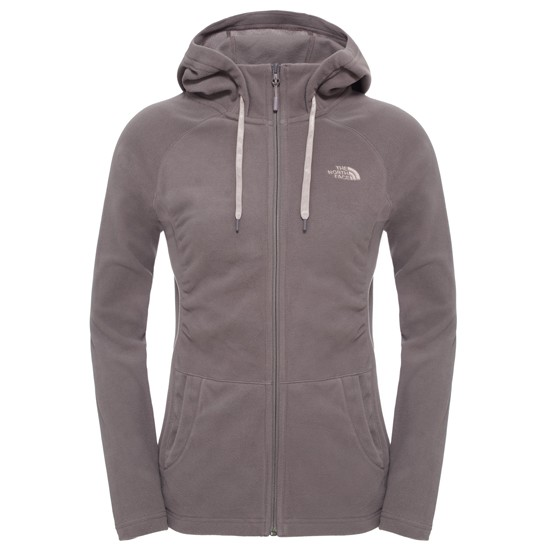 The North Face Mezzaluna Full Zip Hoodie W - Rabbit Grey