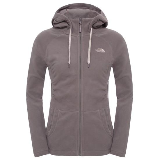 The North Face Mezzaluna Full Zip Hoodie W - Rabbit Grey