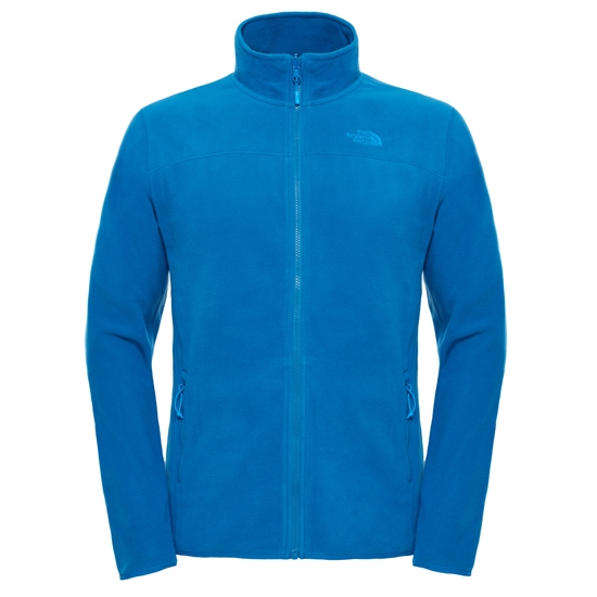 The North Face 100 Glacier Full Zip - Banff Blue