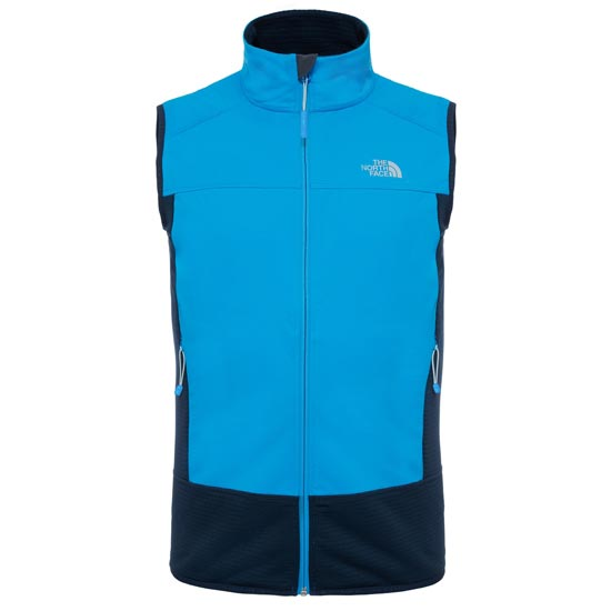 The North Face Hybrid Softshell Vest - Blue Aster