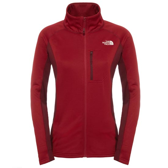 The North Face Super Flux Jacket W - Biking Red/Deep Garnet Red