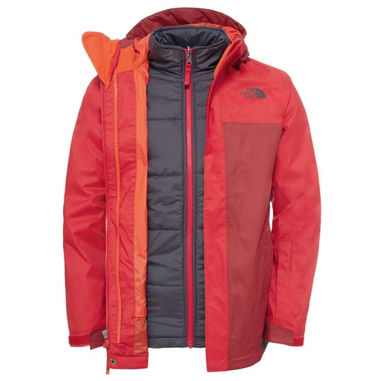 The North Face Boundary Triclimate® Jacket Boy - TNF Red