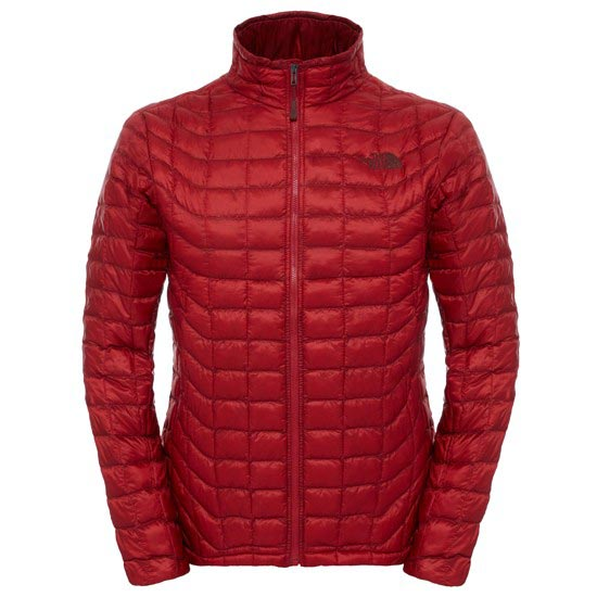 The North Face Thermoball Full Zip Jacket - Cardinal Red