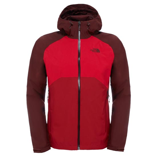 The North Face Stratos Jacket - Cardinal Red/TNF Red/Sequoia Red