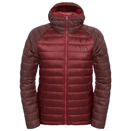 The North Face Trevail Hoodie - Cardinal Red/Sequoia Red