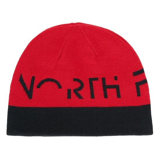 The North Face Youth Anders Beanie - TNF Black/TNF Red