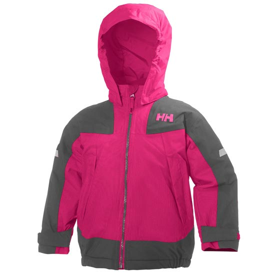 Helly Hansen Velocity Jacket Kids - Magenta/Grey