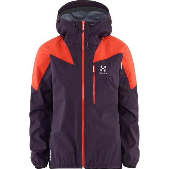 Haglöfs Touring Active Jacket W - Morado/Naranja