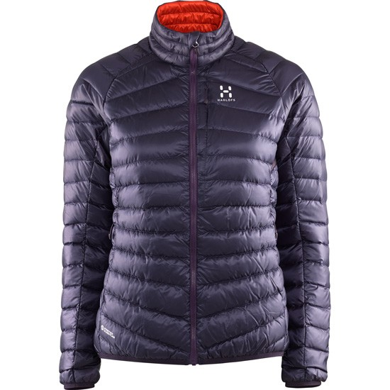 Haglöfs Essens III Down Jacket W - Acai Berry/Habanero