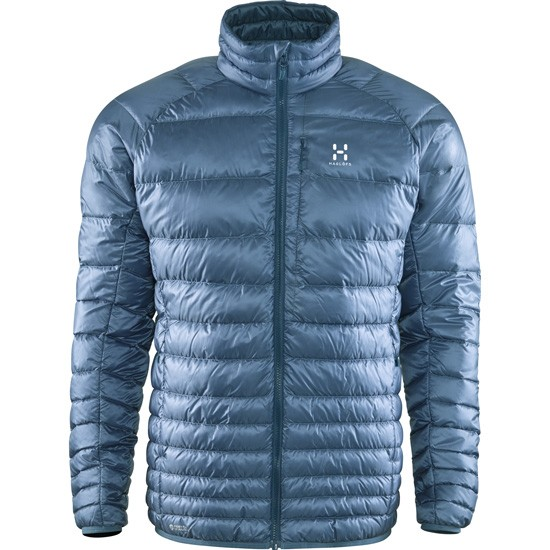Haglöfs Essens III Down Jacket - Steel Sky/Blue Ink