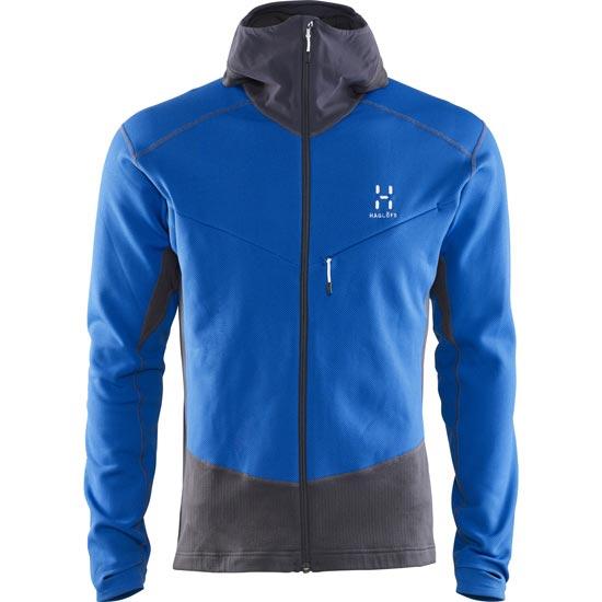 Haglöfs Touring Hood - Vibrant Blue/Magnetite