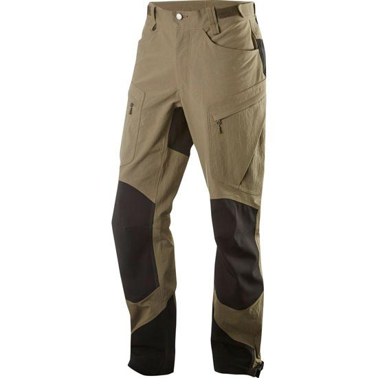 Haglöfs Rugged II Mountain Pant - Driftwood/True Black