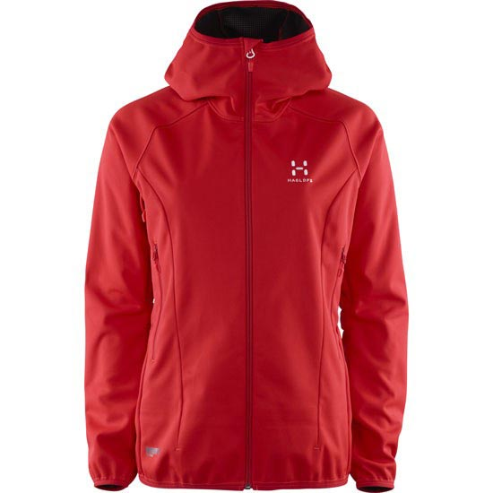 Haglöfs Mistral Hood W - Real Red