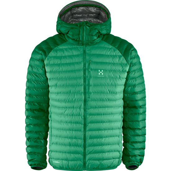 Haglöfs Essens Mimic Hood - Ginko Green/Amazon Green