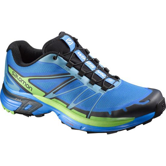 Salomon Wings Pro 2 - Bright Blue/Black/Tonic