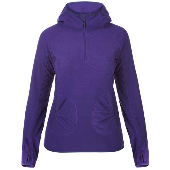 Berghaus Prism Micro II Fleece Half Zip W - Dark Purple