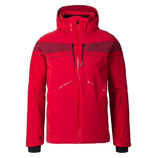 Kjus Speed Reader Jacket - Scarlet/Biking Red