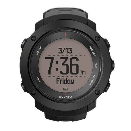 Suunto Ambit3 Vertical Black - Photo de détail