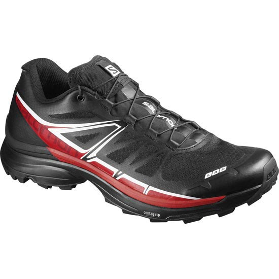 Salomon S-Lab Wings Softground - Black/Red/White