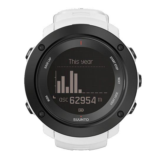 Suunto Ambit3 Vertical White - Photo de détail