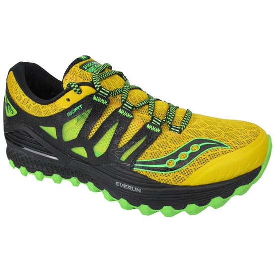 Saucony Xodus ISO - Yellow/Black/Lime