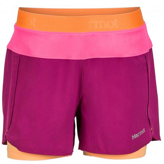 Marmot Pulse Short W - Wild Rose/Kinetic Pink