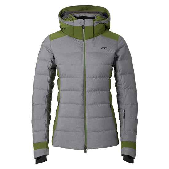 Kjus Snowscape Jacket W - Nine Iron Melange Pesto