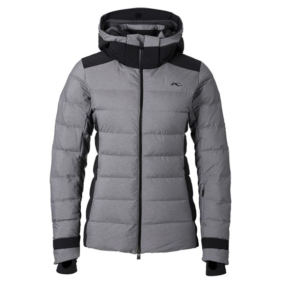Kjus Snowscape Jacket W - Nine Iron Melange Black