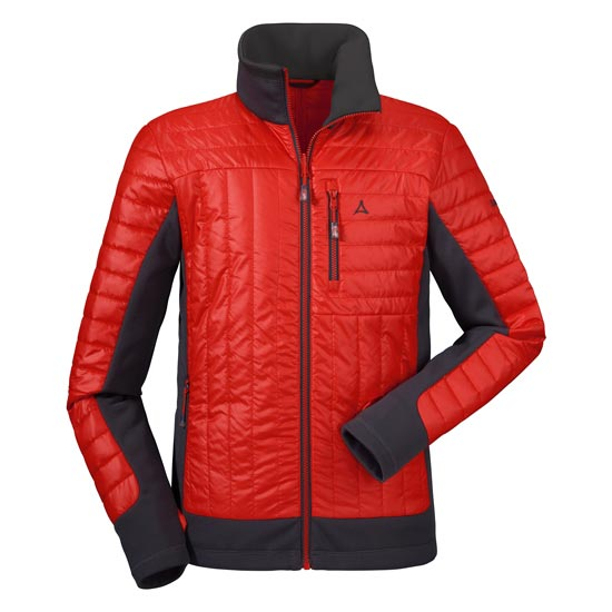 Schöffel Chur Hybrid ZipIn Jacket - Red/Black