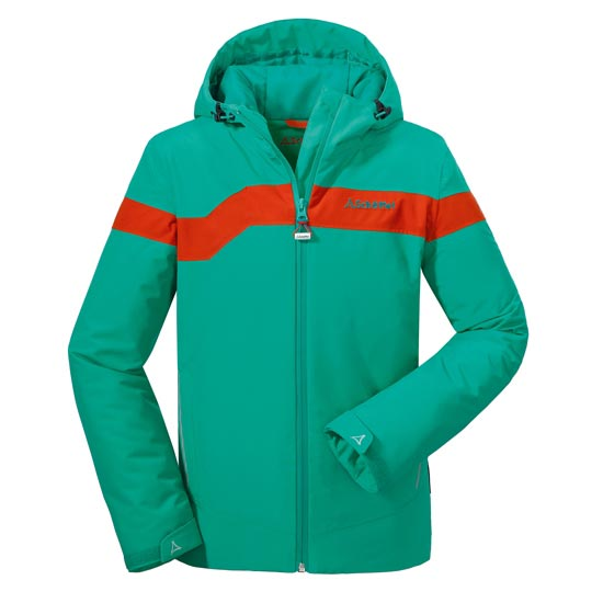 Schöffel Bourges Jacket Jr - Green Ligth