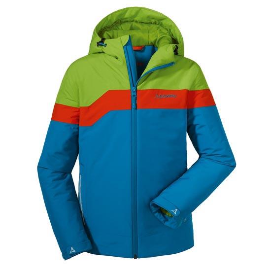 Schöffel Den Haag Jacket Jr - Azul/Verde/Rojo