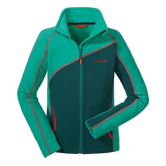 Schöffel Brescia Fleece Jacket Jr - Verde Manzana/Verde