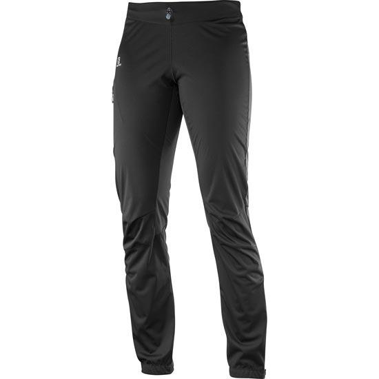 Salomon Lightning Softshell Pant W - Black