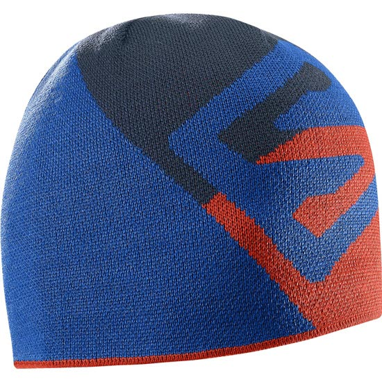 Salomon Flat Spin Short Beanie - Big Blue X