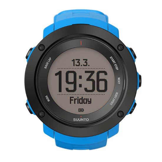 Suunto Ambit3 Vertical Lime Blue -