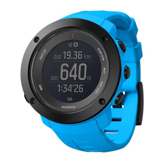 Suunto Ambit3 Vertical Lime Blue - Photo de détail