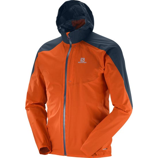 Salomon Bonatti WP Jacket - Vivido Orange
