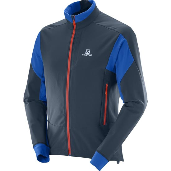 Salomon Momemtum Softshell Jacket - Big Blue X